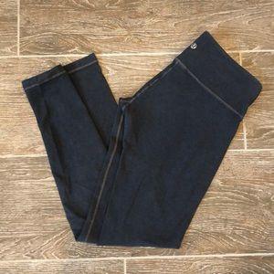 Lululemon Wunder Under Pants - Gray - Mid rise - 6